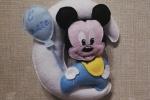 Fiocchi nascita per ospedale Minnie bebé/Topolino bebé