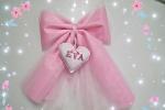 Fiocco rosa più cuore