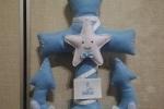 Fiocco nascita con simboli marinari
