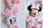 Fiocco nascita personalizzabile Minnie