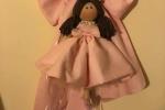 Fiocco nascita con bambola