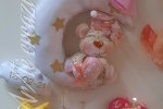 Fiocco nascita in feltro imbottitura anallergica