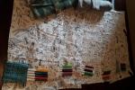 Fogli in tessuto di cotone da colorare