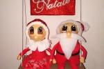 Fuori porta Babbo Natale e consorte