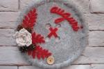 Fuoriporta natalizio bottone
