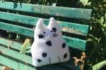 Gatto cuscino o fermaporta amigurumi