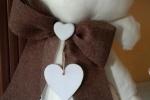 Gatto fermaporta in tessuto, personalizzabile