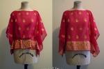 Ghati: caftano in sari indiana