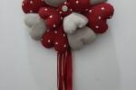 Ghirlanda natalizia di cuori
