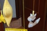 Giostrina culla tema piccolo principe con kit asta e carillon