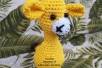 Giraffina amigurumi per i bimbi più piccoli
