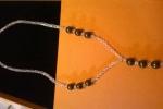 Girocollo sw crystal a/b e perle