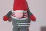 Gnomo handmade lavorato a crochet