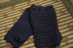 Guanti senza dita in lana donna