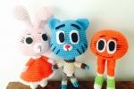 Gumball e i suoi amici all'uncinetto