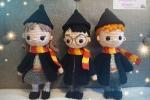 Harry Potter - Harry, Hermione e Ron
