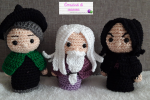 Amigurumi Hogwarts Minis Part 2