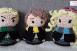 Amigurumi Hogwarts Minis Part 3