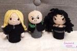 Hogwarts Minis - Parte 4 Lucius, Voldemort e Bellatrix