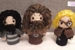 Hogwarts Minis - Parte 5 Sirius, Hagrid e Moody