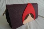 I PortaFiabe, portafogli ispirati alle favole - Cappuccetto Rosso