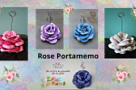 idea Bomboniera Rosa Portamemo