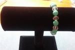 Bracciali elastici con perle Swarovski