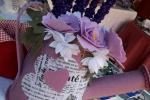 Innaffiatoio fiorito fermaporta