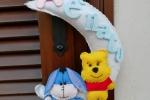 La compagnia di Winnie the pooh in pannolenci