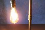 Lampada Industriale steampunk retrò