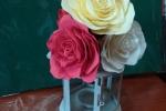 Lanterna con fiori in fommy