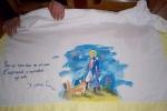 Lenzuolino dipinto a mano Piccolo Principe