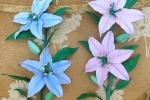 Lilium realizzati in gomma eva