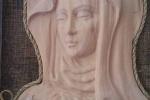 Madonna del dito in legno fatte a mano
