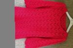 Maglia rossa cotone
