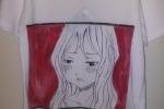 Magliette in cotone dipinte a mano