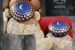 Mandala su pietra - Il cielo di notte
