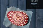 Mandala su pietra - Rubino