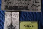 Mappa del Malandrino + Biglietto Espresso per Hogwarts + Ma