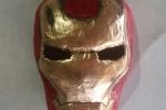 Marvel IronMan maschera con l'antica arte della cartapesta