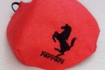 Mascherina logo Ferrari