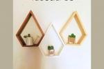 Mensole in legno realizzate interamente a mano