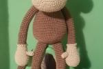 Miki la scimmietta amigurumi