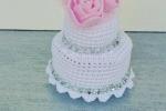 Mini cake portaconfetti matrimonio