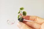 Miniatura floreale ispirata all'arte Ikebana