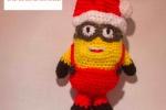 Minion's Babbo Natale, altezza 23 cm