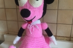 Minnie mouse, all'uncinetto amigurumi