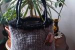 Nietta Bag shopper in cordino lanato