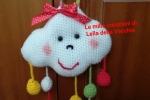 Nuvoletta amigurumi per neonato a crochet
