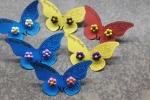 Orecchini a perno fiori
